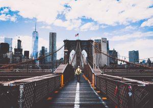 A bridge in Brooklyn.