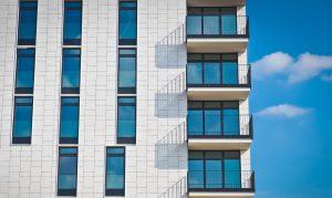 A building.