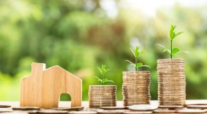 Saving money to purchase a new home.