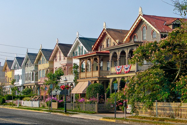 Real estate market-New Jersey houses.