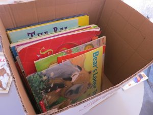 stress-free packing - books in the box
