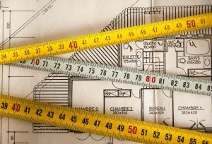 Measuring tapes and a floor-plan. To pick the right size storage unit for your needs, take into account the size of your items.