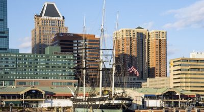 a view of Baltimore which makes moving to Baltimore appealing