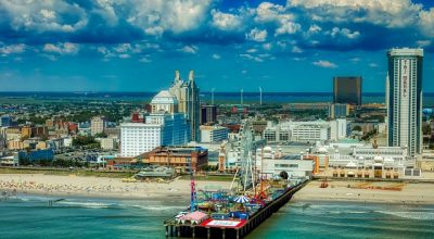A view of the Atlantic City.
