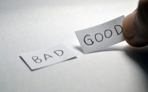 Good and bad - Opposite Choices