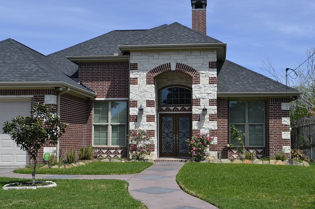 A nice, big house.