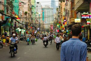 A street in the city of Chaing Mai as one of the options when eploring Asian real estate market.