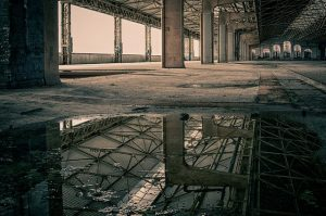 Abandoned industrial space