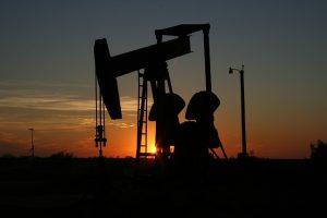 An oil refinery in Texas.