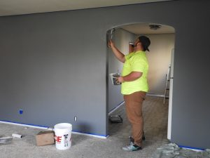 painting walls as one of the things to fix before you move into a new house
