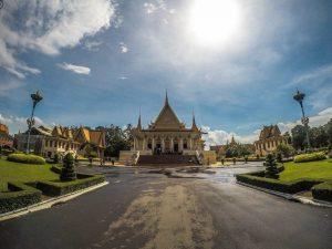 The city of Phnom Penh .