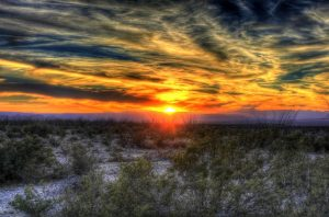 A beautiful sunset in Texas.