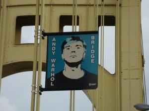 Andy Warhol bridge in Pittsburgh.