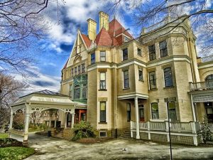 A historic house in Pittsburgh, Pennsylvania.