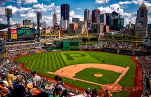 PNC Park in Pittsburgh, PA.