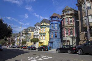 A row houses.
