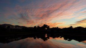 Sunrise in Boca Raton.