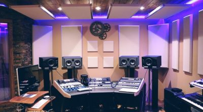 Renting a music studio that has it all.