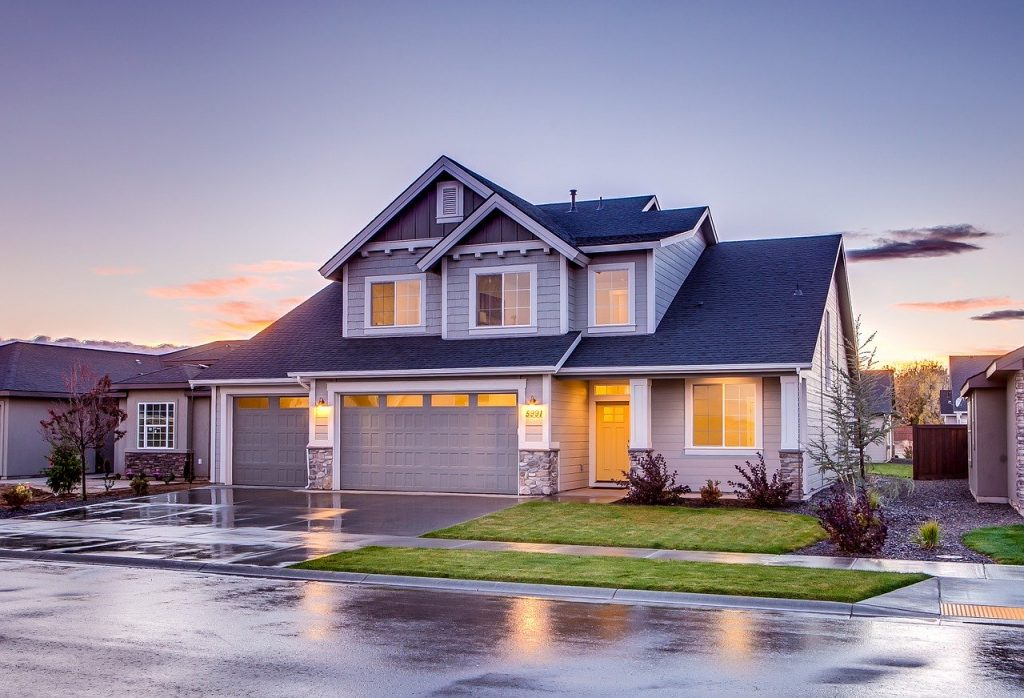 A detached house you can consider when buying a home with a guest house.