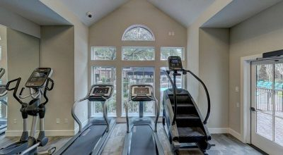 A home gym you can use as an inspiration when remodeling your home gym.