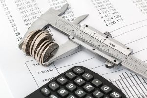 Calculator and savings measurer