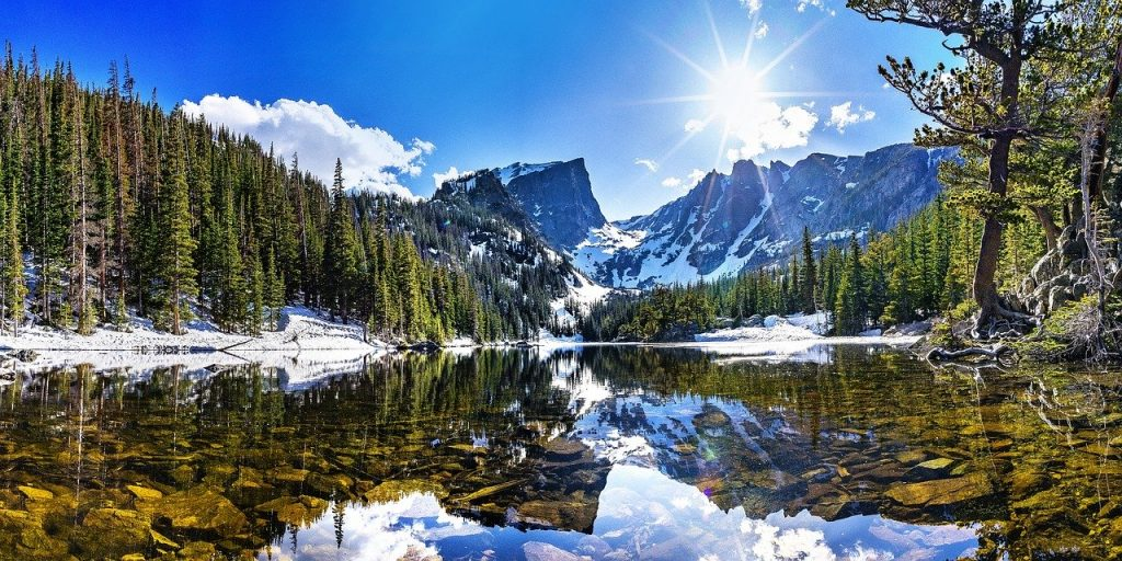 Wonderful nature and mountains that will make moving in Summit County as a single parent an attractive option.