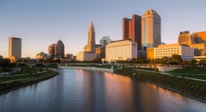 A view of Columbus