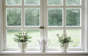 White window.