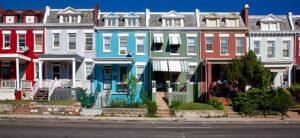 Homes in Washington DC.