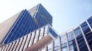 Business building.