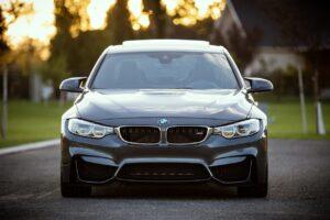 A BMW vehicle.