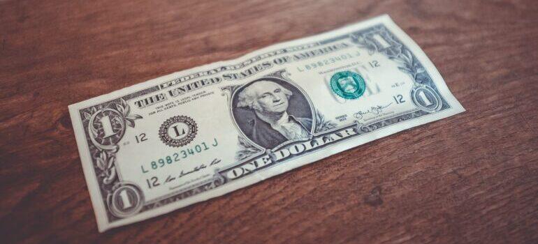 A dollar