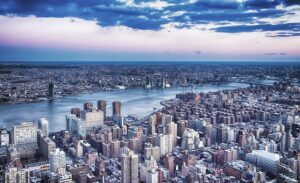 Brooklyn from above.