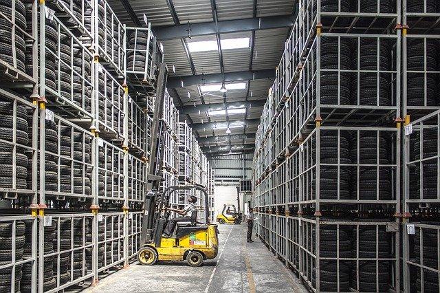 A warehouse.
