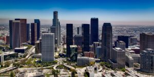 The city view of LA, the city that offers a lot of options for buying a house in Los Angeles and you can be sure that you will find a suitable one.