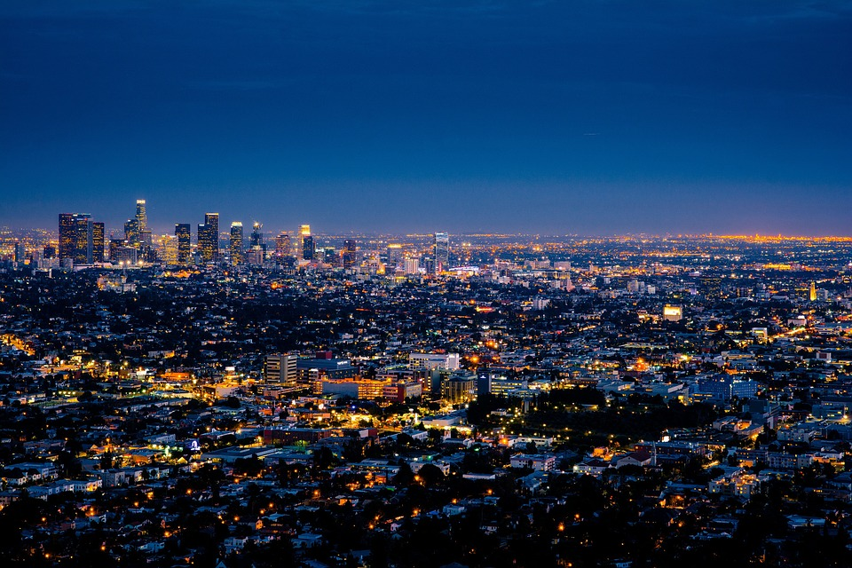 Night view of our favorite places in Los Angeles County